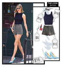 """Steal Her Style ~ Taylor Swift"" by elmoknowswhereyoulive ❤ liked on Polyvore featuring Topshop, Etiquette and Ally Fashion"