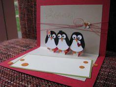 Knabberchens-Stempelblog: süße Pinguine aus Eulenstanze