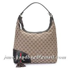 Gucci >  Gucci Hobo >  Gucci Horsebit Tassel Medium Hobo Bag 232968 Coffee Replica