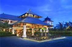 Regis Bali Resort is located on Bali's most beautiful beach, the exclusive pristine beach of Nusa Dua. Description from travel.justluxe.com. I searched for this on bing.com/images