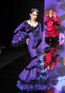 Aurora Gaviño -  Trajes de Flamenca - SIMOF 2012
