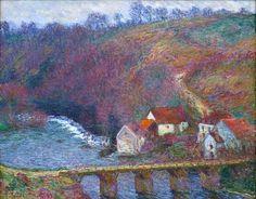 "Claude Monet       ""The Grande Creuse by the Bridge at Vervy"", 1889"
