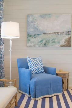 blue and white coastal style | Meredith McBrearty | Geoff Chick
