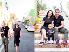 Family photos. Colourful. Bokaap. Trendy family photos.