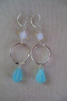 Pretty as the Sea Earrings by smisko on Etsy, $23.00
