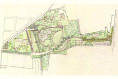 Rosa Grena Kliass Arquitetura Paisagismo, Parque da Juventude. Croquis Rosa Grena Kliass