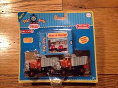 Take Along Thomas and Friends Diecast Metal Monty Max Target | eBay
