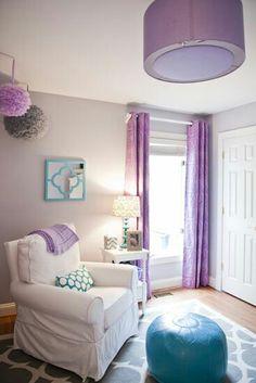 Baby girl's room! Purple!!!!