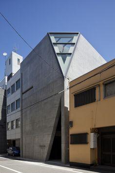 Studio of Light, Prefettura di Osaka, 2012 - Tadao Ando Architect & Associates  #japan #architecture #concrete