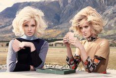 Эмилия (Emilia) и Мелисса (Melissa) для Vogue Australia. Фотограф Николь Бентли (Nicole Bentley)