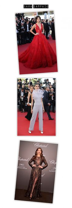 Os looks das celebs no Red Carpet de Cannes 2017 » Fashion Break