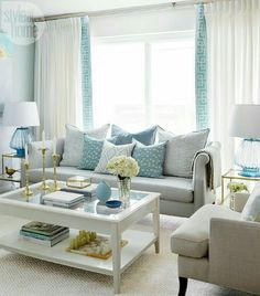 Charmant Just Like Me, Turquoise Has Been The Favorite Color Of Interior Designer  Olivia Hnatyshin Of Olivia Lauren Interior Design Since She Was Littleu2026she  Has ...