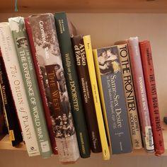 Really eclectic selection from the bookshelf opposite the airing cupboard. Mind how you open the door. #bookstagram #shelfie #oldbooks #bookshelves #bookstoread #books #amreading #reading #authorlife #authorofinstagram #authorsofinstagram #author #writer #writerofinstagram #writersofinstagram #writerlife #bibliomania #instabooks #booksta #bookworm #bookishlove #bibliophilelife #booksofig #bibliomania #bookishlife #bookphoto #bookdragon #lovetoread #bookworld #booknerds