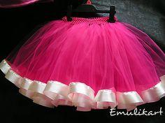 emulikart / Tutu sukňa so saténovou spodničkou