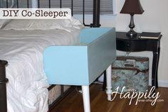 DIY Co-Sleeper