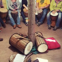 cool djembe vibes oozing from @hiltoncourt gardens last weekend pn our African Drumming experience. We are considering holding another one of the afternoon of 19th Nov...shout if you'd like to join #playsmartlivewell #pembrokeshire #djembeworkshop