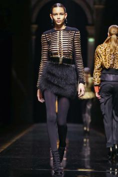 Balmain by Olivier Rousteing - FW 2014/2015