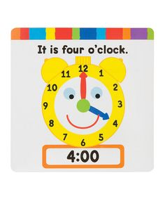 Take a look at the ALEX Ready, Set, Tell Time! Kit on #zulily today!