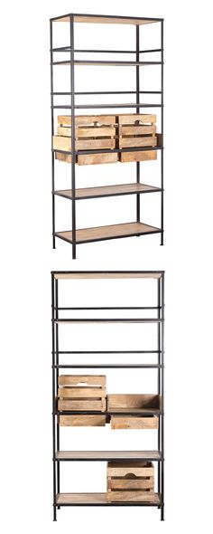 Perfect for a rustic or urban contemporary living space, this Antelope Valley Shelf boasts sleek iron reinforcements and plantation-cut mango wood tiers and inserts. With its minimal, modern silhouette...  Find the Antelope Valley Shelf, as seen in the Our Favorite Industrial Designs Collection at http://dotandbo.com/collections/our-favorite-industrial-designs?utm_source=pinterest&utm_medium=organic&db_sku=117588