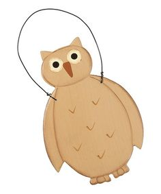 Take a look at this Owl Ornament by Collins on #zulily today!