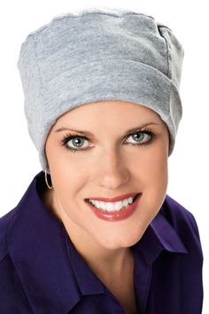 Cotton Chemo Caps - Comfy Cozy Caps for Cancer Patients & Hair Loss