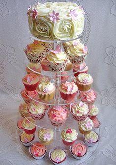 cupcake display ideas | cupcakes | cake decorating flowers | wedding cupcake tree | cupcake ...