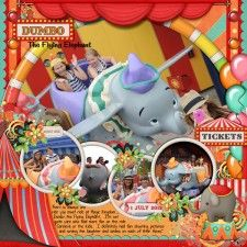 Dumbo @ Disney World Cindy Schneider - Half Pack 38 Photo Focus 10    Kristin Aagard & Studio Flergs - Circus Magic
