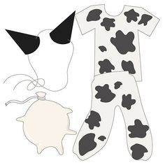 How to Make a Cow Costume: 8 steps (with pictures) - wikiHow