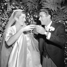Jack and Bobby's sister Patricia Kennedy was also linked to Hollywood: In 1954 she wed British Rat Pack actor Peter Lawford, which began JFK's legendary link to Frank Sinatra and his group. Pat and Peter had four kids, but divorced in 1966.