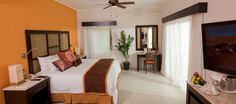 Bedroom area of One Bedroom Suite.  Courtesy Karisma Hotels and Resorts