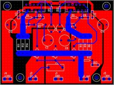 Amplifier Printed Circuit Board