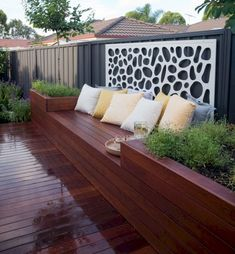 If you are working with the best backyard pool landscaping ideas there are lot of choices. You need to look into your budget for backyard landscaping ideas Backyard Seating, Small Backyard Landscaping, Outdoor Seating, Backyard Patio, Outdoor Decor, Backyard Ideas, Landscaping Tips, Garden Ideas, Patio Ideas