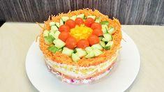 Salatka Tort fantazja /Kasia ze slaska gotuje - YouTube