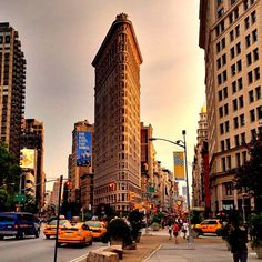Flatiron District in New York, NY