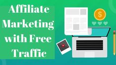 Affiliate Marketing with Free Traffic Make Money Online, How To Make Money, Online Work, Affiliate Marketing, Investing, Learning, Youtube, Free, 7 Hours