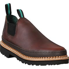 Georgia Boots provide high quality performance-enhancing work footwear, acting as a safeguard to those who have high physical demands for their specific trades. These work shoes by Georgia Giant featu