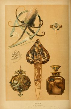 heaveninawildflower: Bijoux designs by René Jules...