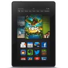 Kindle Fire HD HD Display, Wi-Fi, 8 GB - Includes Special Offers The new Kindle Fire HD is a full-featured HD tablet at an SD price. There's more to enjoy than ever .