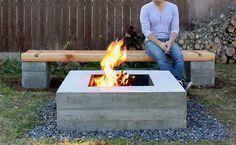 Diese Bank aus Beton und Holz wird zu einem Hingucker in deinem Garten. Mehr Informationen und eine umfangreiche Anleitung findest du auf diyhelden.com.