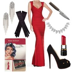 game of clue costumes - Google Search
