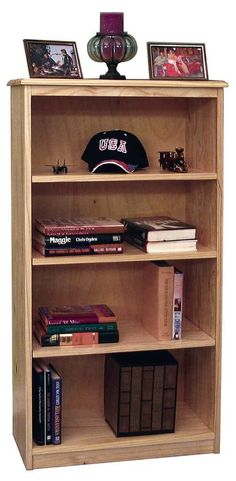 Gothic Cabinet Craft - Pine Bookcase w/ 3  Adjustable Shelves, $129.00 (http://www.gothiccabinetcraft.com/pine-bookcase-w-3-adjustable-shelves/)
