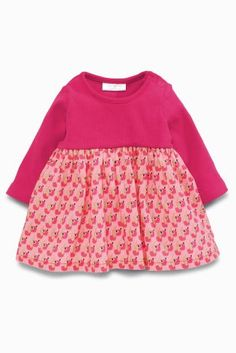 Buy Pink Dog Print Dress (0mths-2yrs) online today at Next: Belgium
