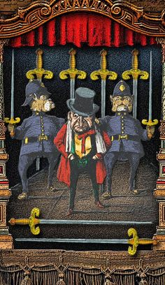 The Tarot of Mister Punch: Feeling Confined?
