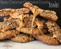 ~Triple Caramel Oatmeal Cookie Bombs!