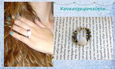 wire, beads & stones