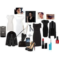 """""""BBC's Irene Adler fashion"""" by nchavez113 on Polyvore"""