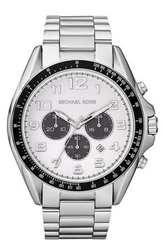 Michael Kors 'Bradshaw' Chronograph Bracelet Watch available at #Nordstrom