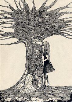 Tree 02, by Midori Yamada
