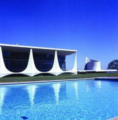Niemeyer, Palacio de Alvorado en Brasilia