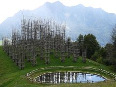 the foot of Mount Arera in the northern Italian region of Lombardy was completed in 2010.